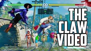 Street Fighter 5 Vega Combo Video