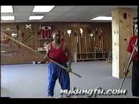 Chan Tai San Choy Lay Fut Staff Basics Kung Fu