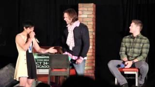 Osric Chau crashes Jared and Jensen's panel | Chicon 2014