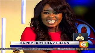Harmonize Happy Birthday surprise to Citizen's Lilian Muli