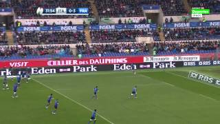 Rugby Union Six Nations 2015 Round 4 Italy vs France Full match HD