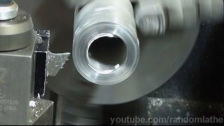 7x16 Mini Lathe - Using carbide circular saw for lathe parting blades - part 1