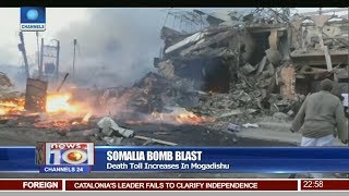 Nearly 300 People Dead, Hundreds Injured In Somalia Bomb Blast Pt.4  News@10  16/10/17