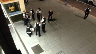 Busted at Gants hill