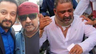 হুইল চেয়ারে বসে নির্বাচনে ভোট দিলেন খলনায়ক ডন! | Bangladeshi Actor Don BFDC News 2017!