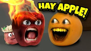 Annoying Orange - Hay Apple!