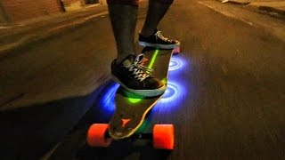Custom LightUp Motorized SkateBoard