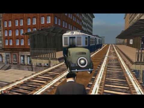 Mafia Car vs Train