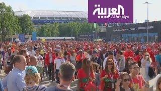 روسيا2018   ردود أفعال الجماهير المغربية بعد الخسارة غير المستحقة