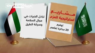 تفاصيل استراتيجية العزم بين السعودية والإمارات