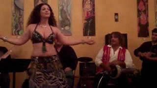 Sabrina Bellydancer Drum Solo w/ Frank Lazzaro