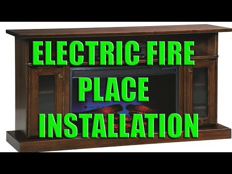 ELECTRIC FIRE PLACE | INSTALLATION & 3 MONTH REVIEW | KOMODO HUDSON CANADIANTIRE