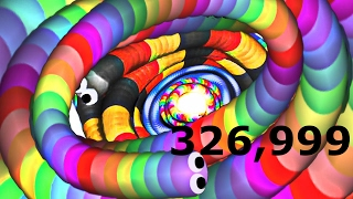 SLITHER.IO - WORLD RECORD 300,000k+ BEST PLAYER EVER 2017 YOUTUBE RECORD!!