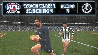 TWISTS AND TURNS - AFL Evolution Coach Career 2018 Edition (Round 3)