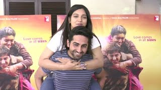 Dum Laga Ke Haisha Celebrations For Winning National Award | Ayushmann khurrana, Bhumi Pednekar