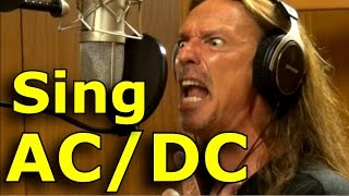 How To Sing AC/DC- Brian Johnson - Ken Tamplin Vocal Academy