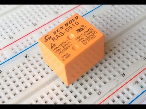 El Relevador o Relay Que es Como Funciona Para que sirven LA ELECTRONICA BASICA