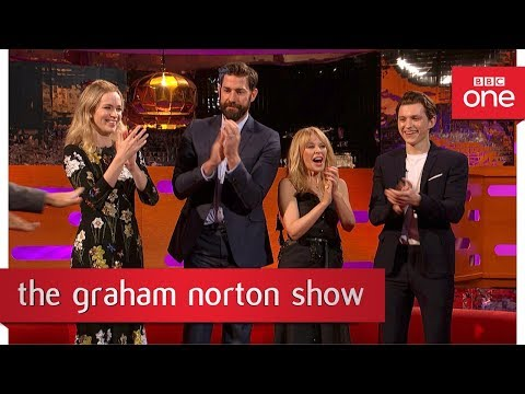Xxx Mp4 John Krasinski And Some Audience Members Show Off Their Best Dance Moves The Graham Norton Show 3gp Sex