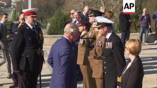 UK's Prince Charles in Romania on