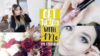 GRWM | Arreglate Conmigo - Mi  Cumpleaños | Cecie