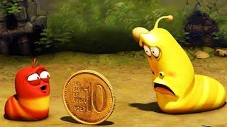 LARVA - COIN TOSS | Larva 2017 | Cartoons For Children | Larva Cartoon | Funny Animated Cartoon