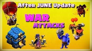 Post Update WAR Attacks | TH12 War Strategy #01 | COC 2018 |