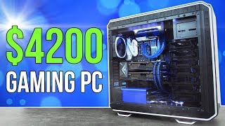 $4200 Gaming PC Build | Time Lapse