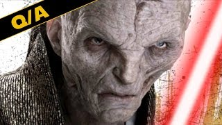 Will Snoke Use a Lightsaber in The Last Jedi - Star Wars Explained Weekly Q&A