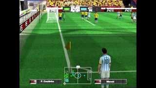 Pro Evolution Soccer 2015 [PS2] Brasil Vs Argentina