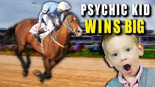 Psychic KID WINS BIG AT RACE TRACKS - FACT or FICTION?