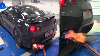 GTR SHOOTING FLAMES! (SUPERCAR)