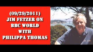 Jim Fetzer gets Ambushed on BBC World, Cleans House & Gets Booted (09-29-2011)