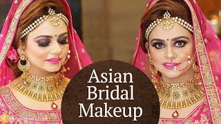Beautiful Asian Bridal Makeup Tutorial | Makeup Tutorials for Indian Brides | Krushhh by Konica