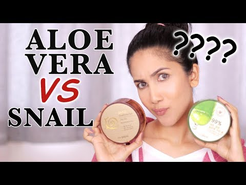 BAGUSAN MANA: Aloe vera VS Snail Gel ?? | suhaysalim