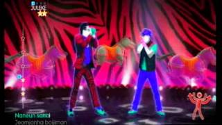 Just Dance 4 - Gangnam Style (Wii Gameplay)