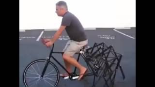 Homem inventa bicicleta mais shows do mundo