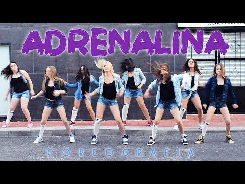 Academia De Baile Mary Girona Coreografía Adrenalina Wisin ft Jennifer Lopez y Ricky Martin