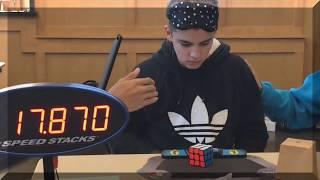 All Rubik's Cube World Records (Single) Update November 2017 | [S32iCh]