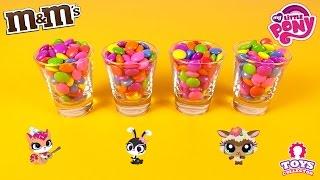 M&M's Surprise Toys Hide & Seek - My Little Pony and Little Pet Shop