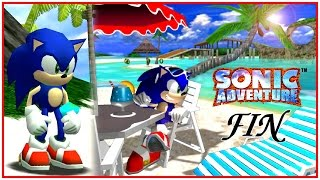 Sonic Adventure (Dreamcast) - Sonic Story - HD Widescreen