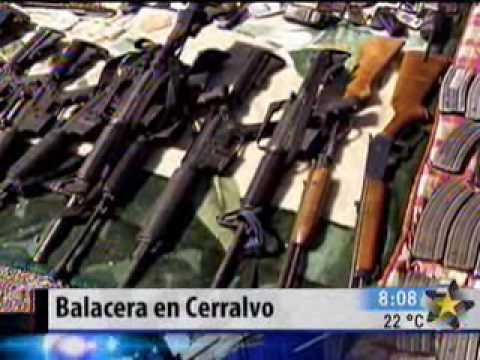 Deja la Marina 6 sicarios muertos tras balacera en Cerralvo
