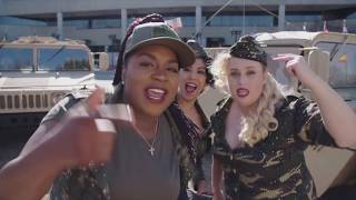 Go Behind The Scenes on PITCH PERFECT 3 + Movie Clips