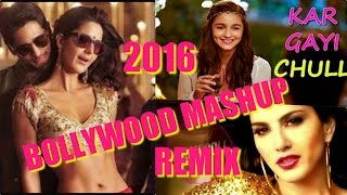 BOLLYWOOD MASHUP 2016 | DJ EMKAUR |