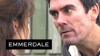 Emmerdale - Cain And Emma Fight Over Moira