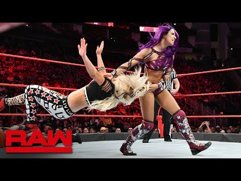 Xxx Mp4 Sasha Banks Ember Moon Alexa Bliss Vs The Riott Squad Raw June 4 2018 3gp Sex