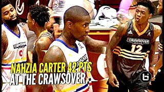 17 y/o Nahziah Carter 42 POINTS at The Crawsover! He COULDN