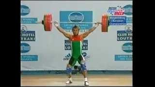 2003 European Weightlifting  Men's 69 Kg Snatch