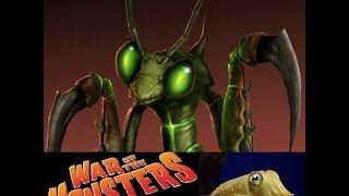 War of the Monsters (PS2) - Preytor walkthrough (with fabulous bee/wasp costume)