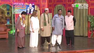 Khushboo, Amanat Chan and Iftikhar Thakur New Pakistani Stage Drama Full Comedy Clip