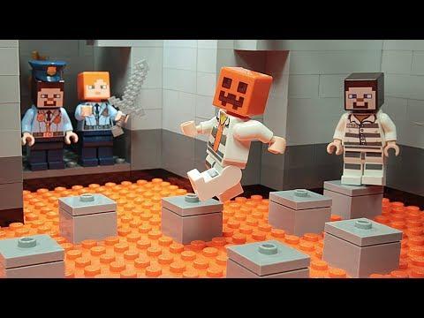 Lego Minecraft NOOB vs PRO Prison Escape